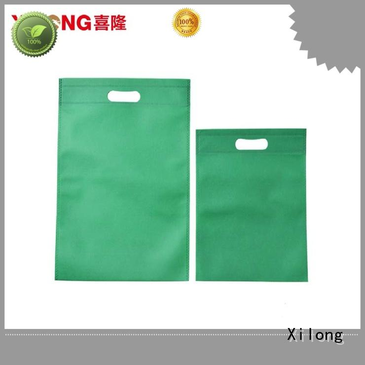 Xilong eco-friendly nylon shopping bags logo