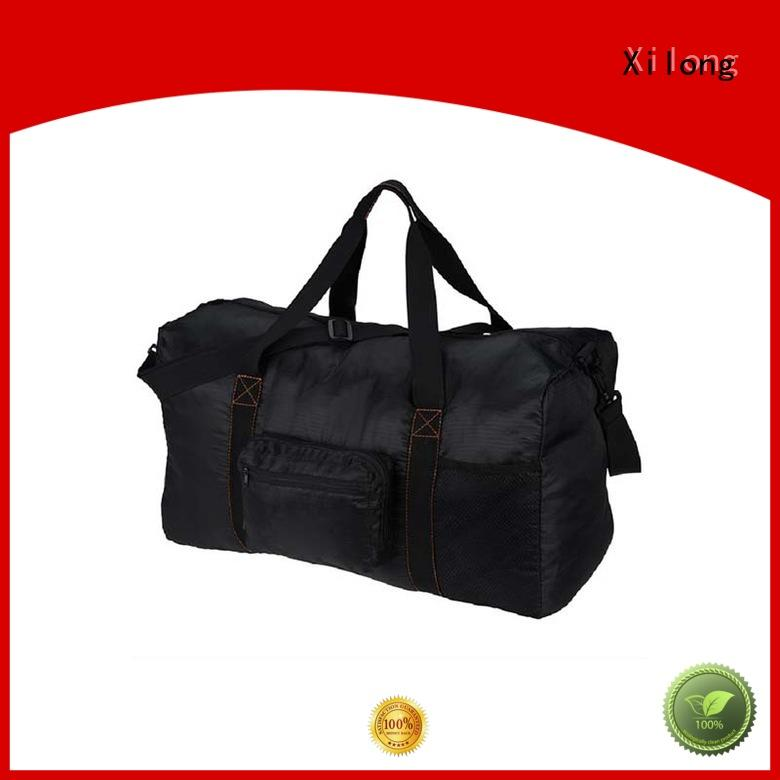 Xilong black personalized sports duffle bags factory for sport