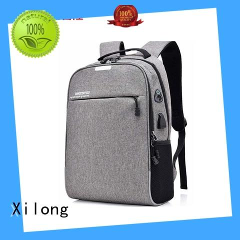 Xilong charging laptop travel backpack laptop for computer
