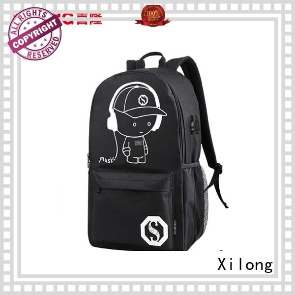 Xilong personalized wholesale school bags for wholesale