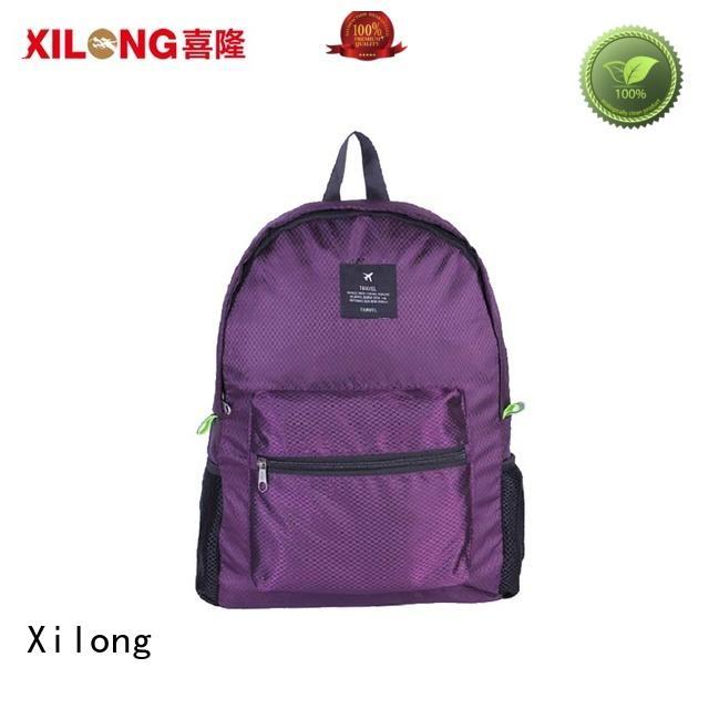 Xilong waterproof custom name backpacks for trip