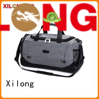 custom personalized sports duffle polyester factory price for tour