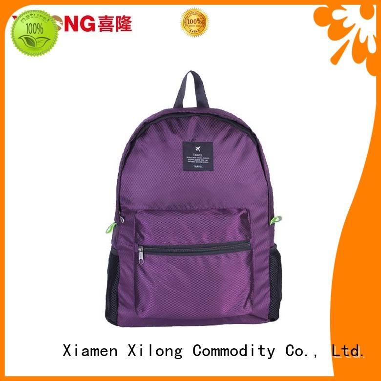 Xilong foldable backpack manufacturers