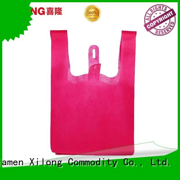 reusable custom shopping bags wholesale promotion factory price for travel