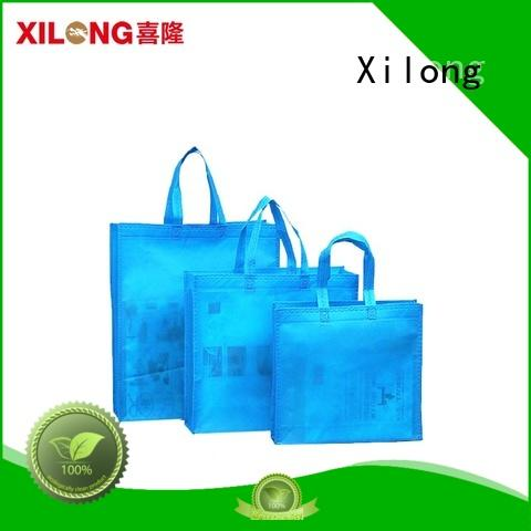 ecofriendly reusable cloth shopping bags free sample for trip Xilong