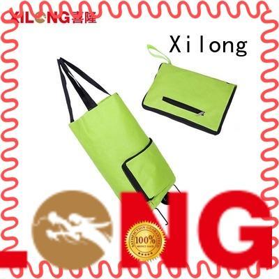 folding shopping cart bags on wheels customization for girls Xilong