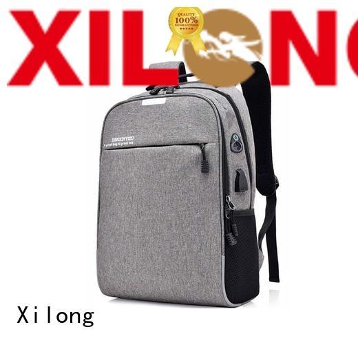 Xilong travel best laptop backpack for men port for computer