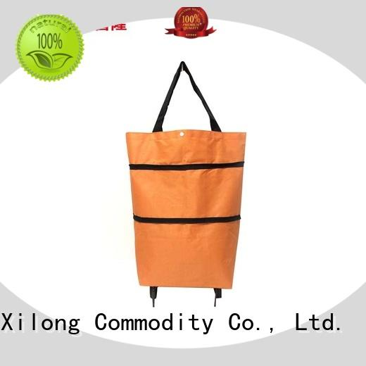 Top foldable trolley shopping bag cart for business