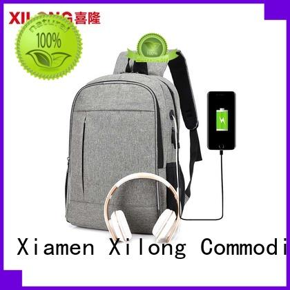 Xilong charging personalized laptop backpack backpack for computer