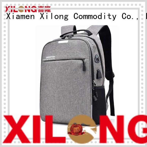 Xilong Wholesale laptop travel backpack factory