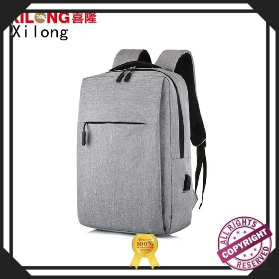 Xilong anti-theft laptop backpack companies port for computer