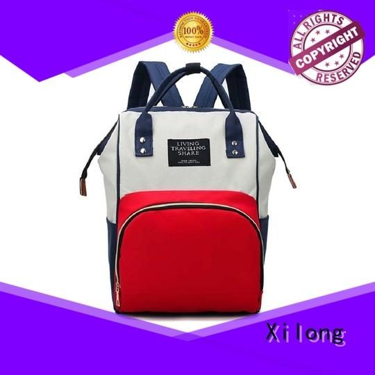 Xilong diaper personalized diaper bag backpack backpack for students