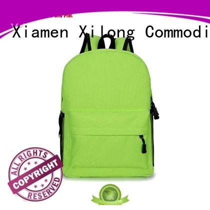 Xilong bag school backpack manufacturers china