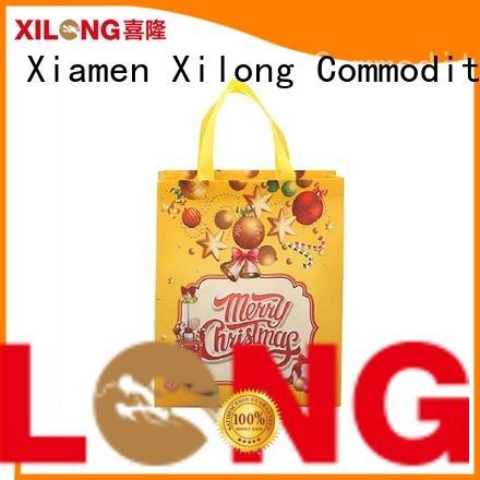 Xilong tote fabric shopping bag for hiking