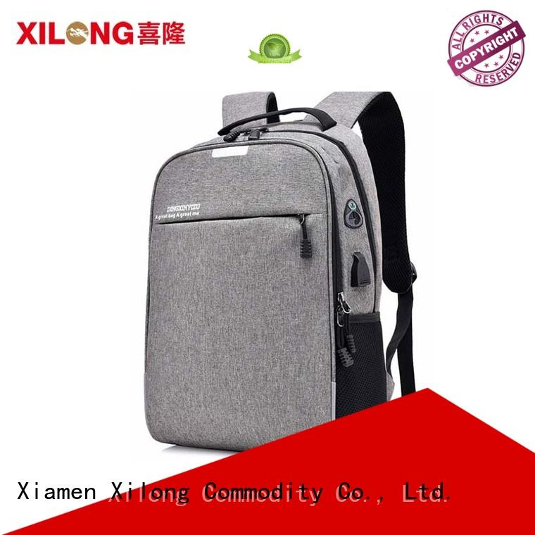 Xilong notebook backpack factory