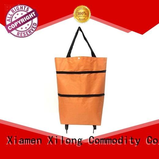 Xilong bag trendy shopping trolley customization for women