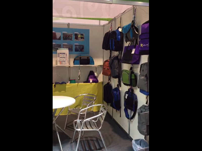 Wholesale backpacks exhibition video
