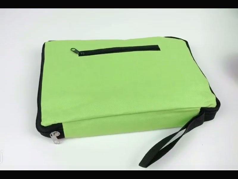 Zipper pouch bags video