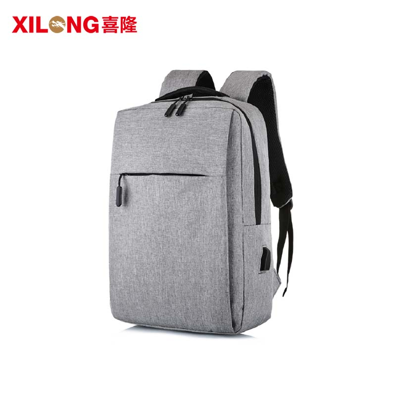 Fashion  light  durable  USB laptop computer backpack  with your logo-1
