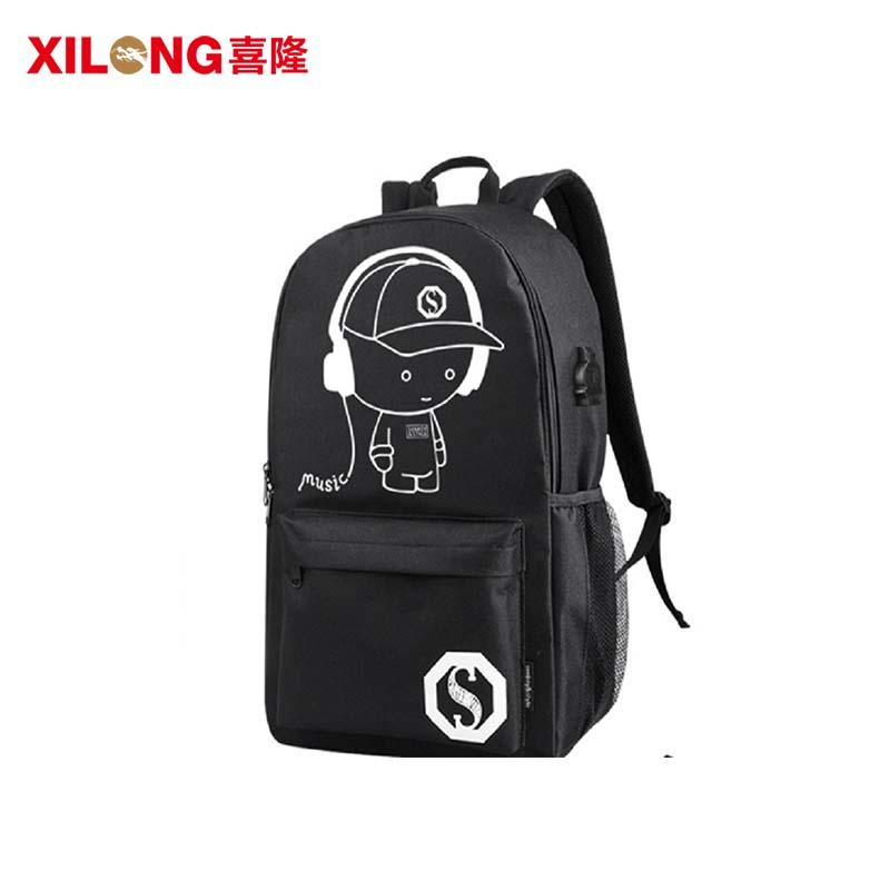 600D cheap school backpacks for teens