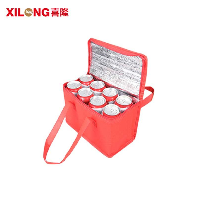 Custom aluminium foil food cooler Insulated bag
