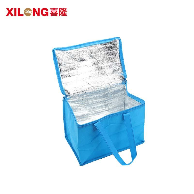 non woven food aluminium foil cooler tote bag