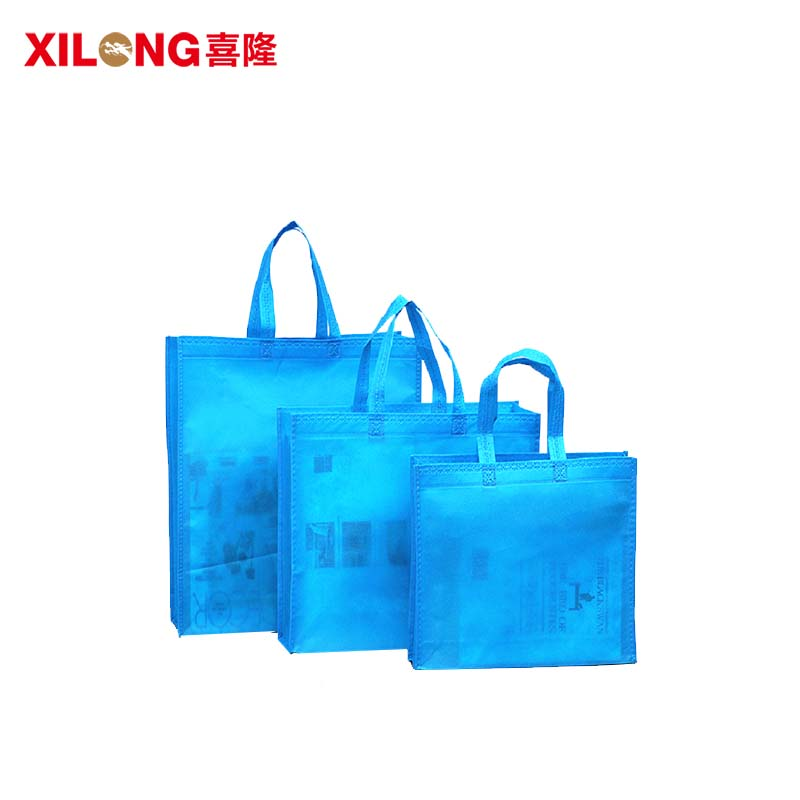 Christmas tote shopping bag handle factory price-1