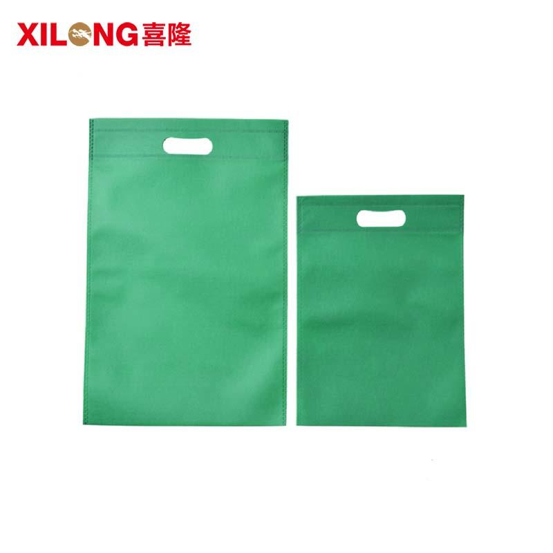 eco-friendly heat seal die cut handle woman shopper bags with logo