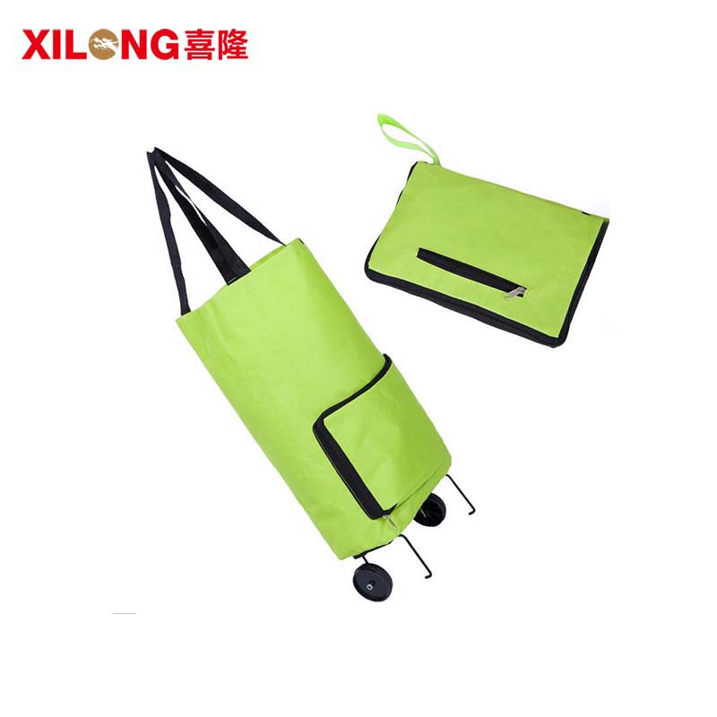 OEM/ODM Foldable Shopping Bag Market Trolley-1