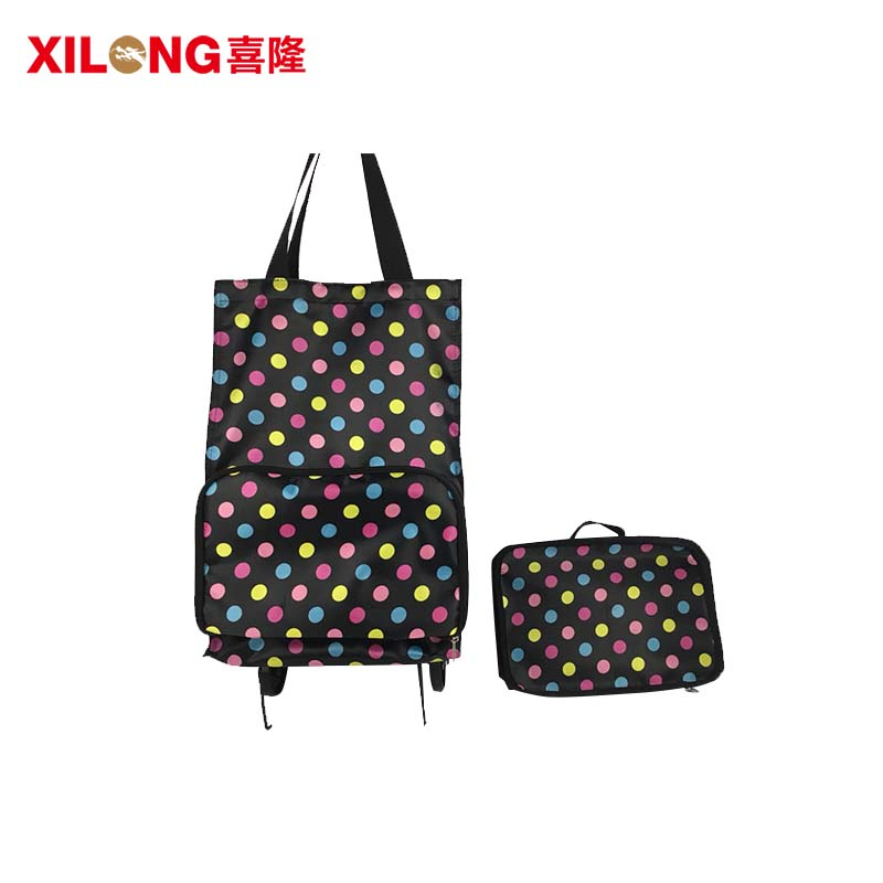 sale trolley shopping bag foldable laminated for girls-1