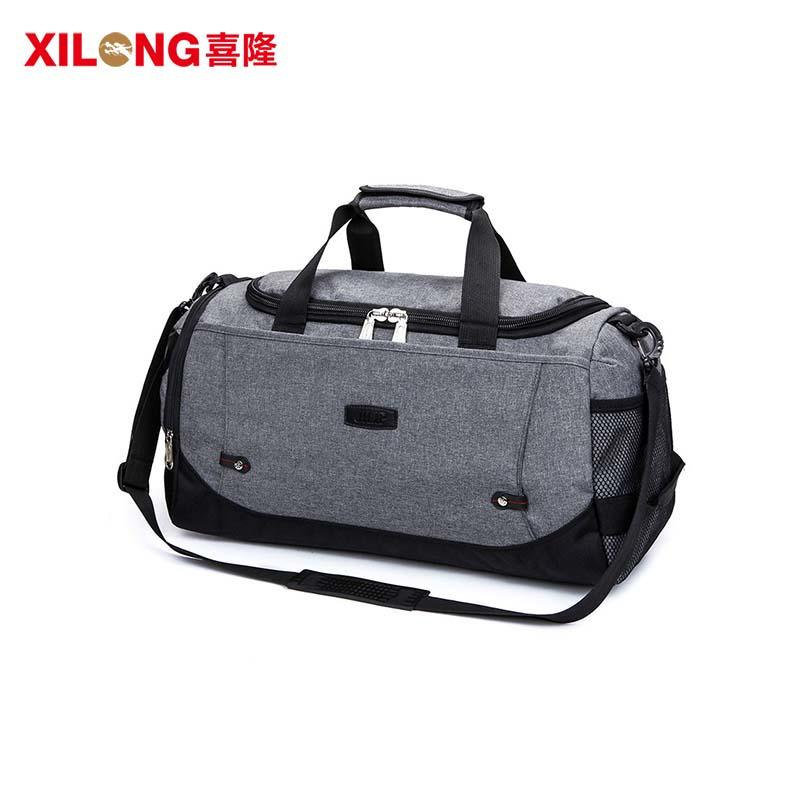 Large Capacity Waterproof Nylon Custom Duffle Bag For Traveling