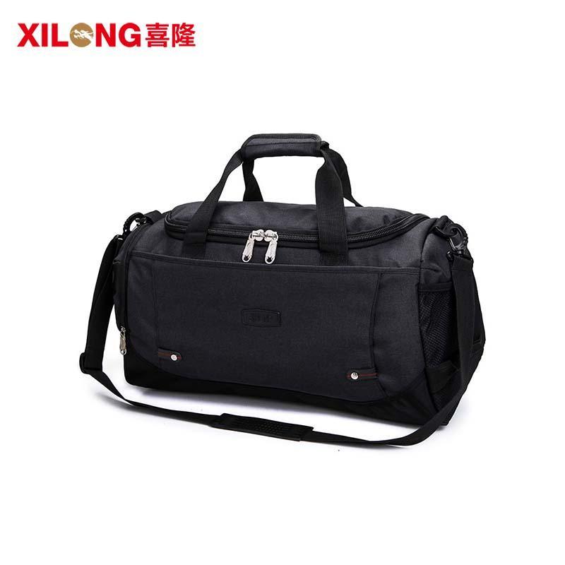 Large Capacity Waterproof Nylon Custom Duffle Bag For Traveling
