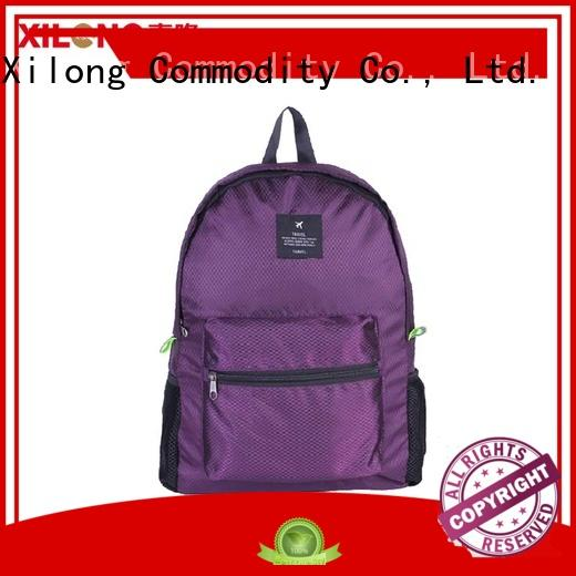 travelling foldaway rucksack bag Xilong