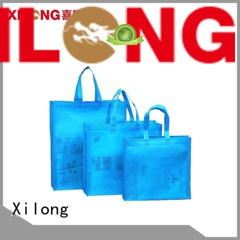 Xilong waterproof shopping bag for business