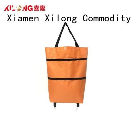 Xilong trendy shopping trolleys on wheels Suppliers