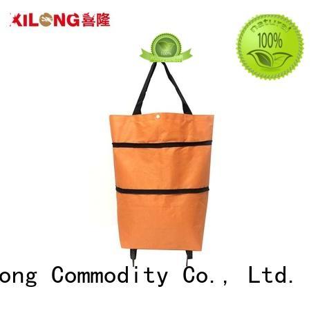Xilong oem stylish shopping trolley laminated