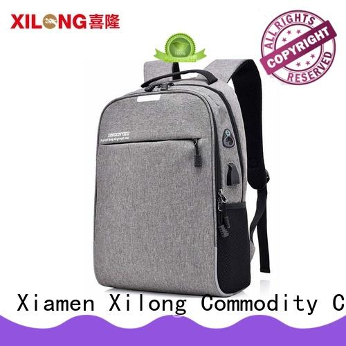 Xilong waterproof women's computer backpack bags for business trip