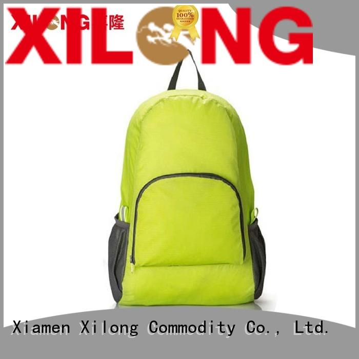 Xilong best foldable hiking backpack reasonable price duffle