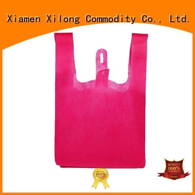 Xilong tote custom shopping bags with logo factory price for hiking