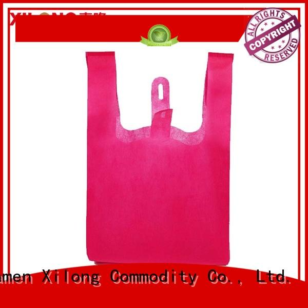 Xilong trendy shopping bags factory