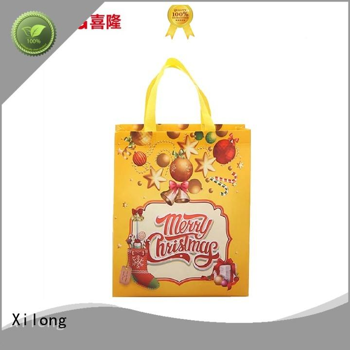 eco-friendly reusable cloth shopping bags factory price for travel Xilong
