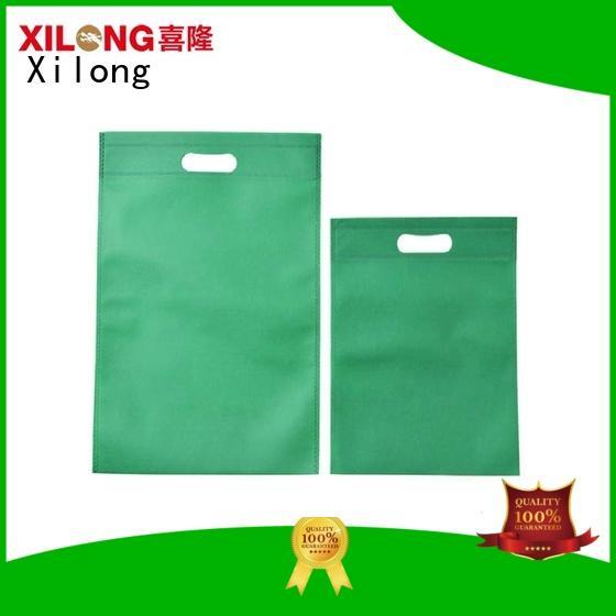 Xilong woman waterproof shopping bag factory for wholesale