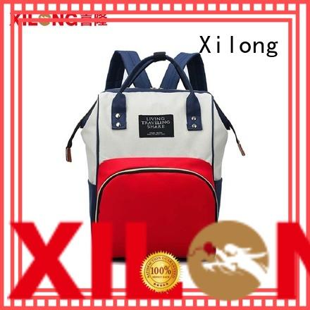 Xilong custom diaper bag backpack for business
