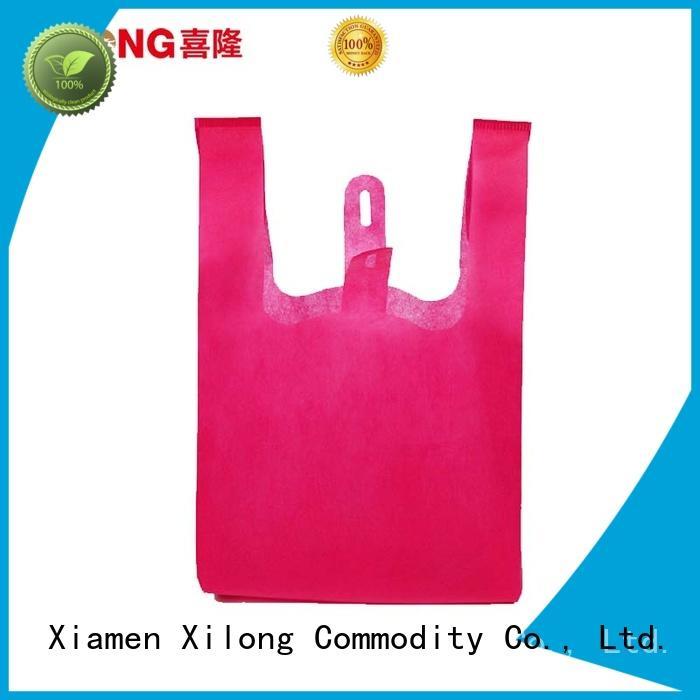 Xilong shopping custom shopping bags wholesale now for trip
