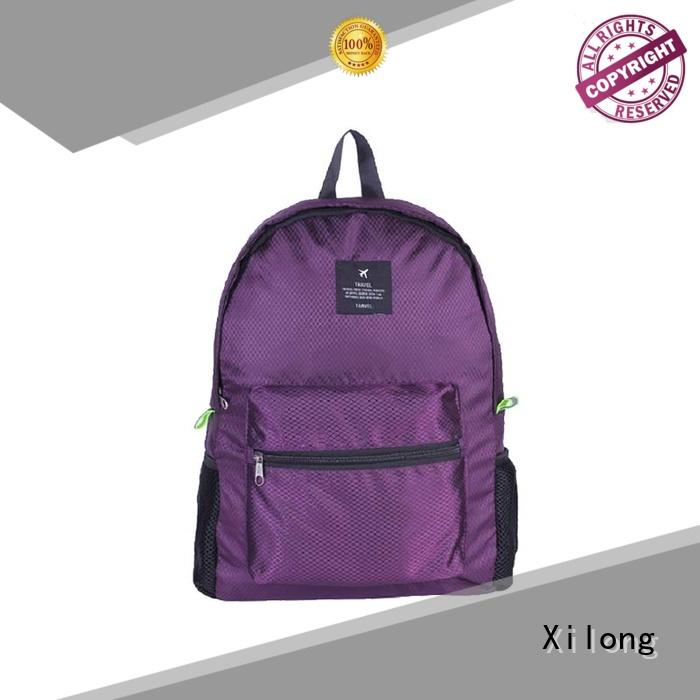 fold open backpack smart Xilong