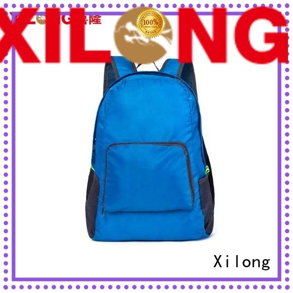 Xilong best fold up backpack best quality for boys