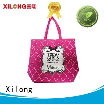 Xilong bags personalized shopping bags wholesale for travel