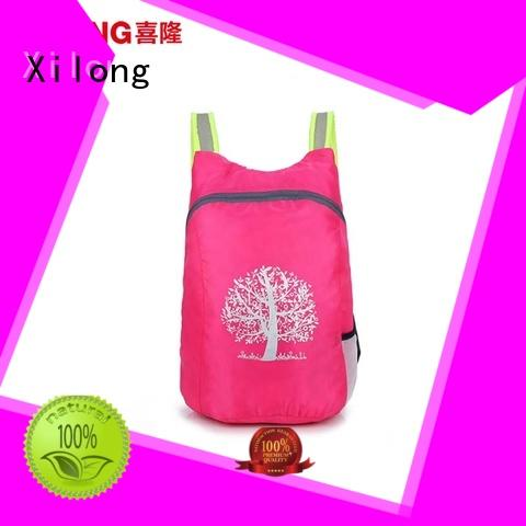 Xilong Wholesale folding backpacks for business