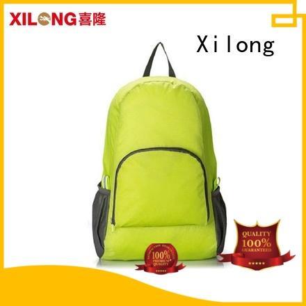 Xilong small foldable backpack reasonable price duffle