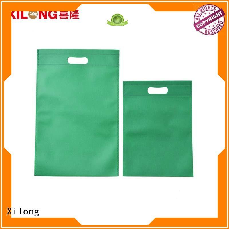 woven order custom shopping bags factory price Xilong